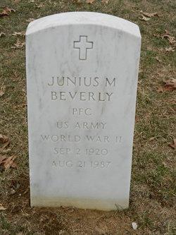 Junius M Beverly