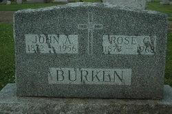 Rose Gertrude <I>Rosenberger</I> Burken