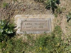 Anna <I>Aune</I> Walker