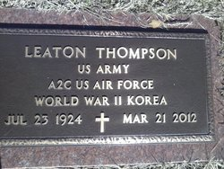 "Leaton ""AL"" Thompson"