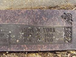 Amos Ward York