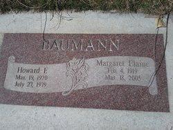 Margaret Elaine <I>Parker</I> Baumann