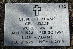 Gilbert P Adams