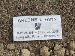 Mrs Arlene Laverne <I>Eckard</I> Fann