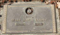 Mary J. <I>Hiller</I> Basden