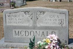 Monroe Hawkins McDonald