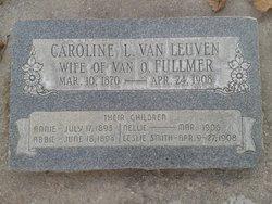 Caroline Luveria <I>Van Leuven</I> Fullmer