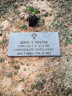 John T Hester