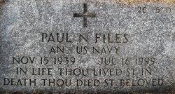 Paul N Files