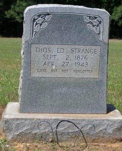 Thomas Edward Strange