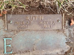 Glady Ruth <I>Walker</I> Agee