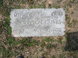 S Crayton Gaines