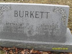Bertha May <I>Kernan</I> Burkett