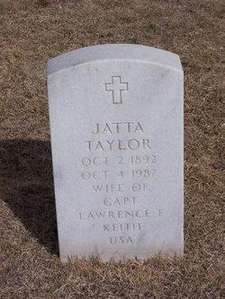 Jatta Cornelia <I>Taylor</I> Keith