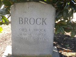 Ora Lovicey <I>Koonce</I> Brock