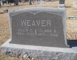 Clara B. <I>Chamberlain</I> Weaver