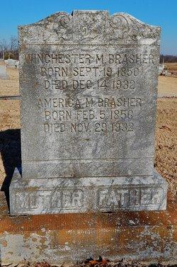 America Murphey <I>Armstrong</I> Brasher