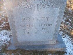 Mary Maxine <I>Dixon</I> Babbitt