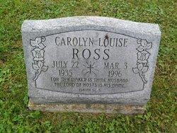 Carolyn Louise <I>Mason</I> Ross