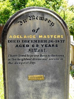 Adelaide Eliza <I>DeLaThoreza</I> Masters