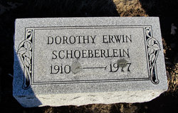 Dorothy <I>Erwin</I> Schoeberlein