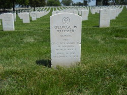 """PFC George W. """"Coochie"""" Rhymer"""