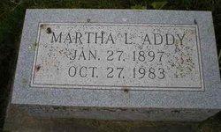 Martha L. Addy
