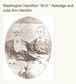"""Washington Hamilton """"W. H."""" Aldridge"""