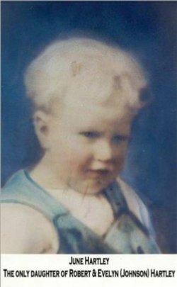 """Evelyn June """"June"""" Hartley (1926-1930) - Find A Grave Memorial"""