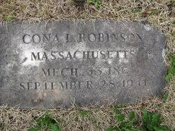 Cona L. Robinson