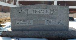 """Mary Etta """"Queen"""" <I>Morrow</I> Utenage"""