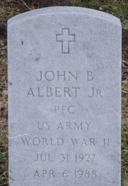 John B Albert, Jr