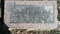 John Fletcher McCall