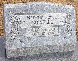 Fannie Nadyne <I>Boyer</I> Boiselle