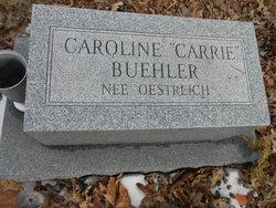 "Caroline ""Carrie"" <I>Oestreich</I> Buehler"