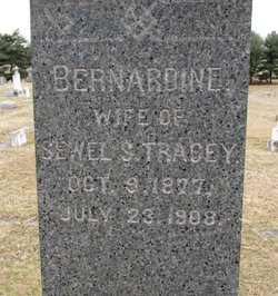 Bernardine <I>Williams</I> Tracey
