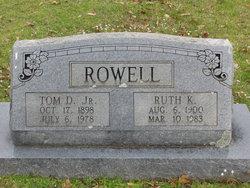 Thomas David Rowell, Jr