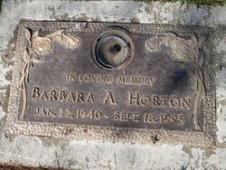 Barbara A. Horton