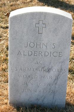 John S Alderdice