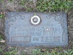 Lettie Venie <I>Davis</I> Arrington