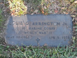 "Louie George ""Junior"" Arrington, Jr"