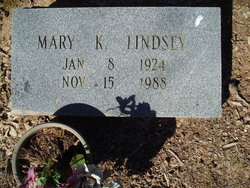Mary Kathrine <I>Deal</I> Lindsey