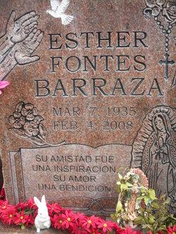 Esther Fontes Barraza