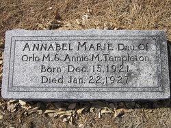 Annabel Marie Templeton