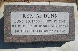 """Rex A. """"T-Rex"""" Dunn"""