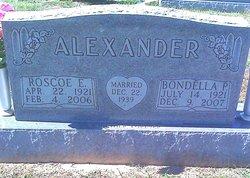 Bondella <I>Puckett</I> Alexander