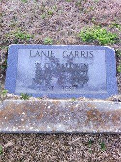 Lanie Ann <I>Garris</I> Baldwin