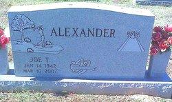 """Joe Thomas """"Joe-Joe"""" Alexander"""