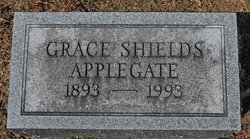 Grace L. <I>Shields</I> Applegate