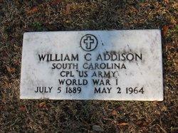William C Addison